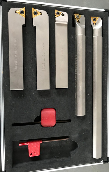5pc Carbide insert Turning Tool Sets 20mm shank kit