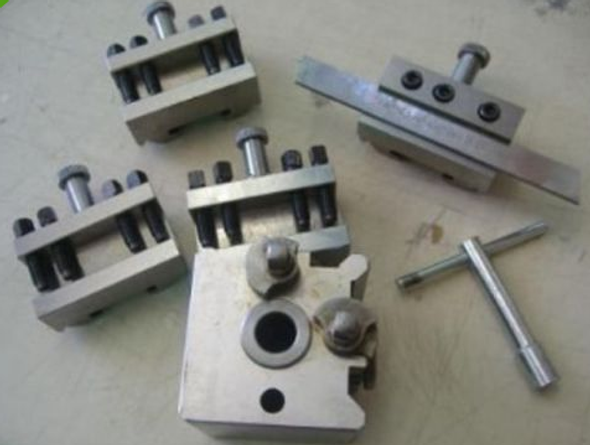 T51 Quick Change Toolpost System [5pc - Includes 4 Holders] (Medium Size)