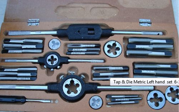 Tap & Die Metric set 6-18MM 7sizes 32pc BOXED