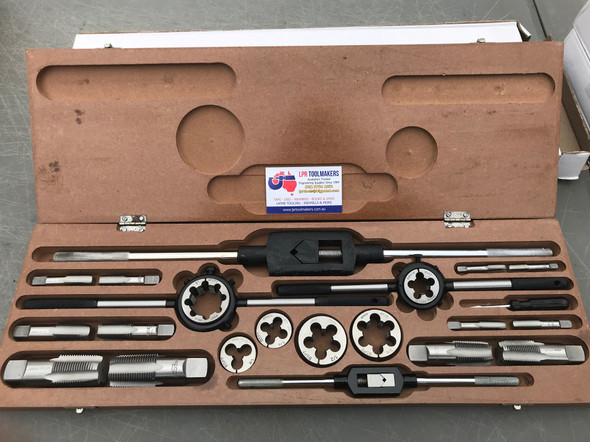 "BSPT Tap & Die Set [Boxed] (23pc) - 1/8"" to 1"""