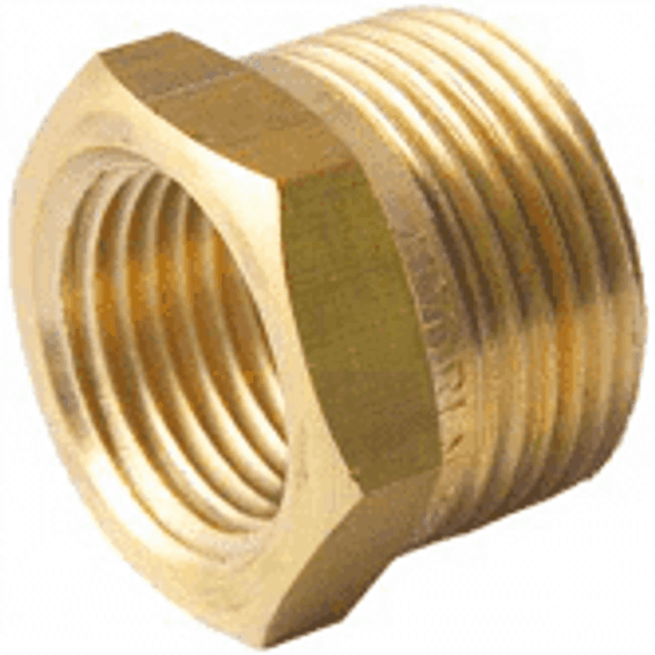 """BSP [1/8"""" - 3/4""""] Brass Reducers pick your thread size"""
