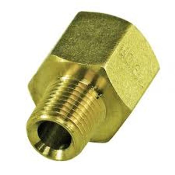 """BSP to NPT [1/8"""" - 3/8""""] Brass Adaptors pick your thread size"""