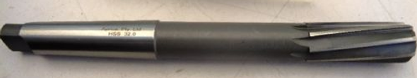 Morse Taper  Machine Reamers M2 HSS ANSI standards from 25mm - 32mm