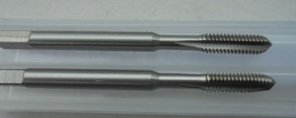 Metric HSS Small Size Tap Sets (2PC) | Sizes 1.0 to 4mm