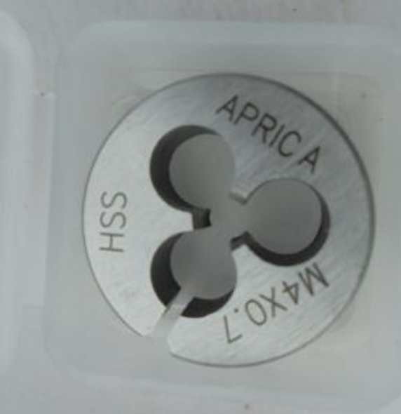 Metric Small Sized Split Button Dies (HSS) - 1.0mm to 4mm