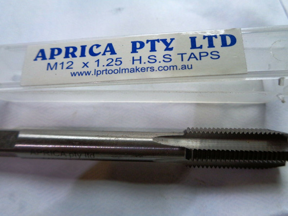12mm x 1.25 pitch metric hss tap australia