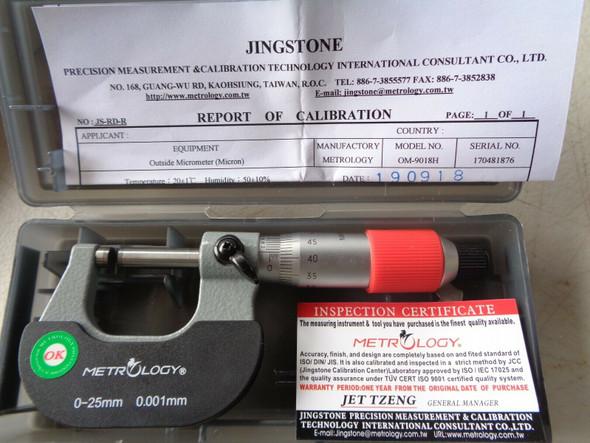 calibrated quality micrometer plain australia