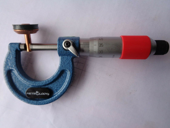 25mm calibrated outside micrometer buy australia