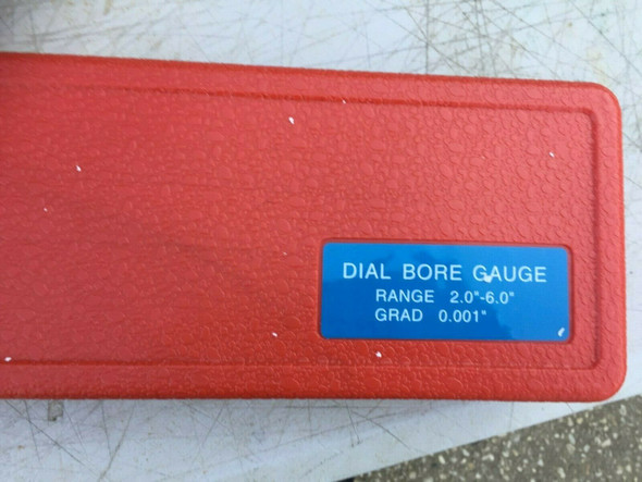 """Cylinder Bore Gauge (Imperial - 2"""" to 6"""" Range) with Dial Indicator [.001"""" increments]"""