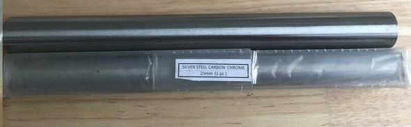 25mm Silver Steel Round bar