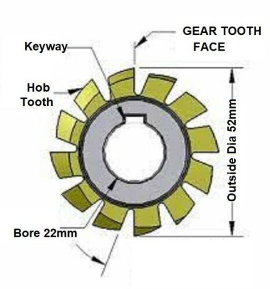 buy spline cutter gear cutter melbourne australia