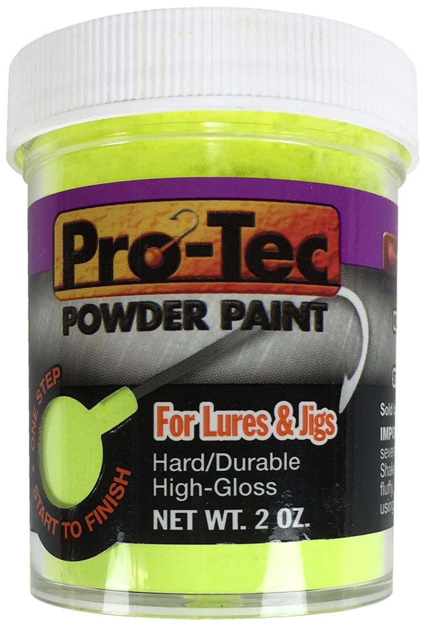 GLITTER GLOW METALFLAKE WORLD/'S #1 JIG PAINT- PRO TEC POWDER PAINT UV BLAST