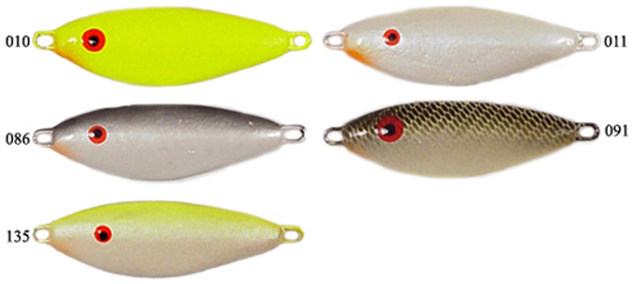 SHAD LEAD SPOON FISHING JIGS 3//4 OZ 15 PCS W//STAINLESS S WIRE EYE//UNPAINTED
