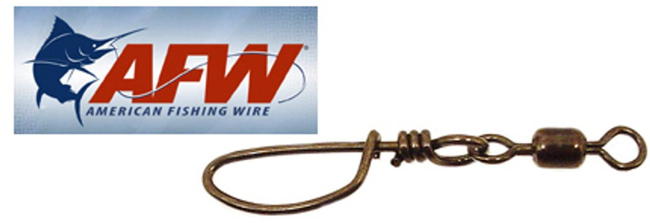 AFW Mighty Mini Snap Swivels Amount 50 Test 70 lb