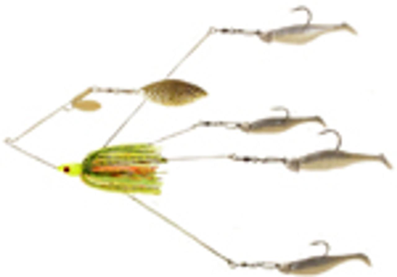 Spinner / Buzz Bait Umbrella Rig