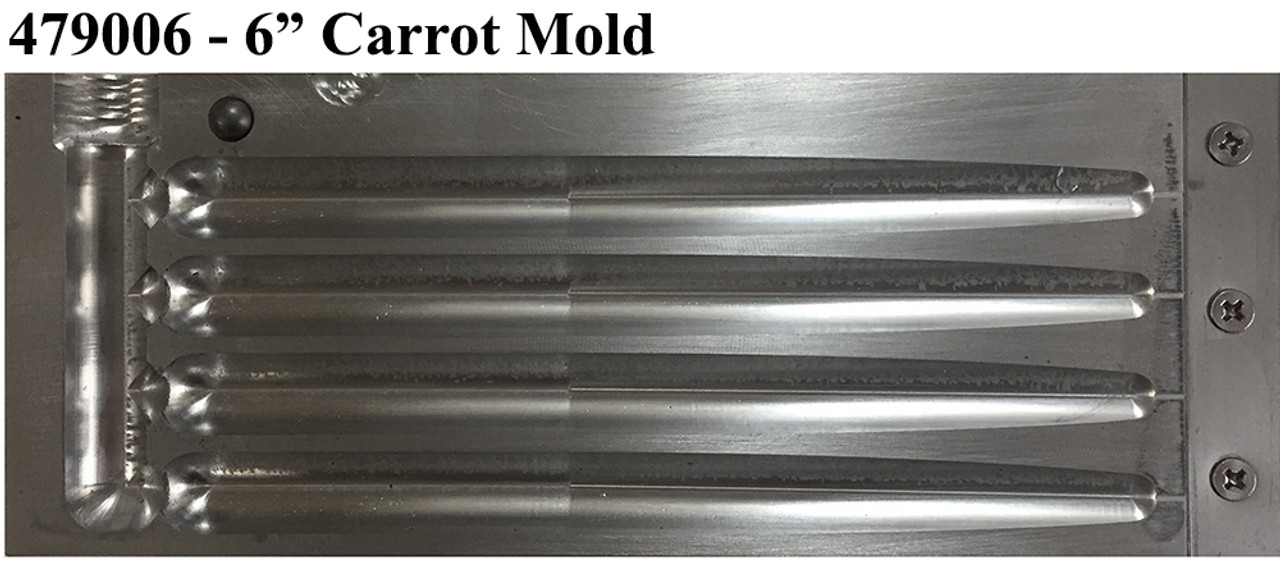 Do-It CNC Carrot Worm Molds