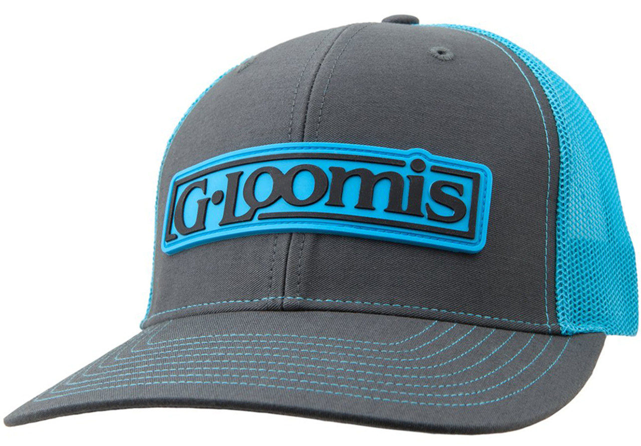 G Loomis Rubber Logo Patch Cap
