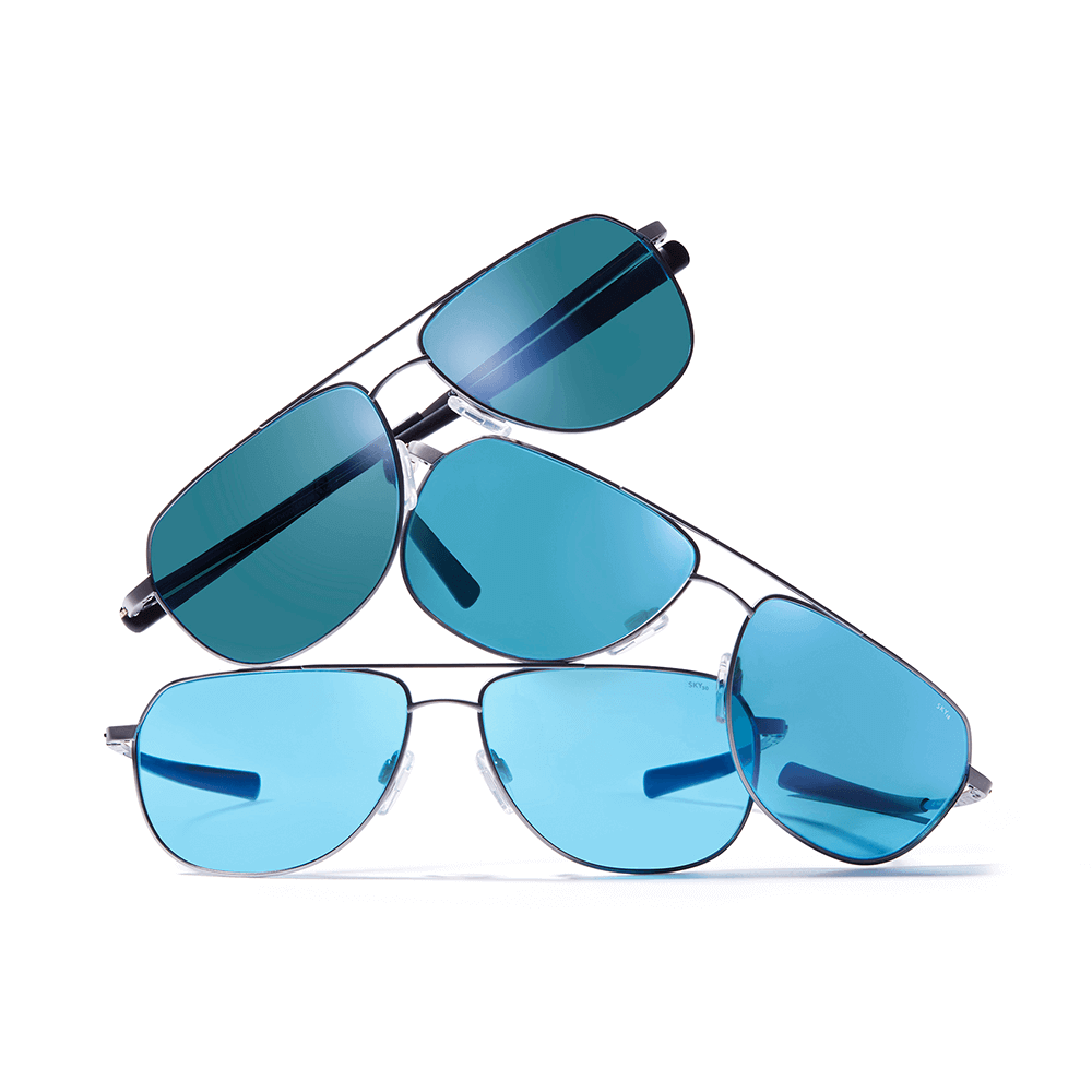 Ascent Aviator SKY Sunglasses