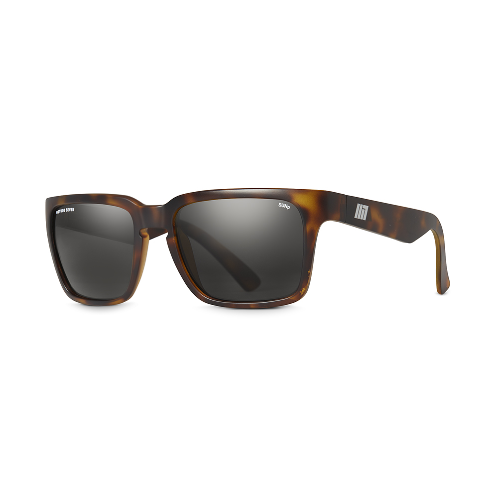 Evolution Sun Polarized Grow Sunglasses - Brown Tortoise, 3/4
