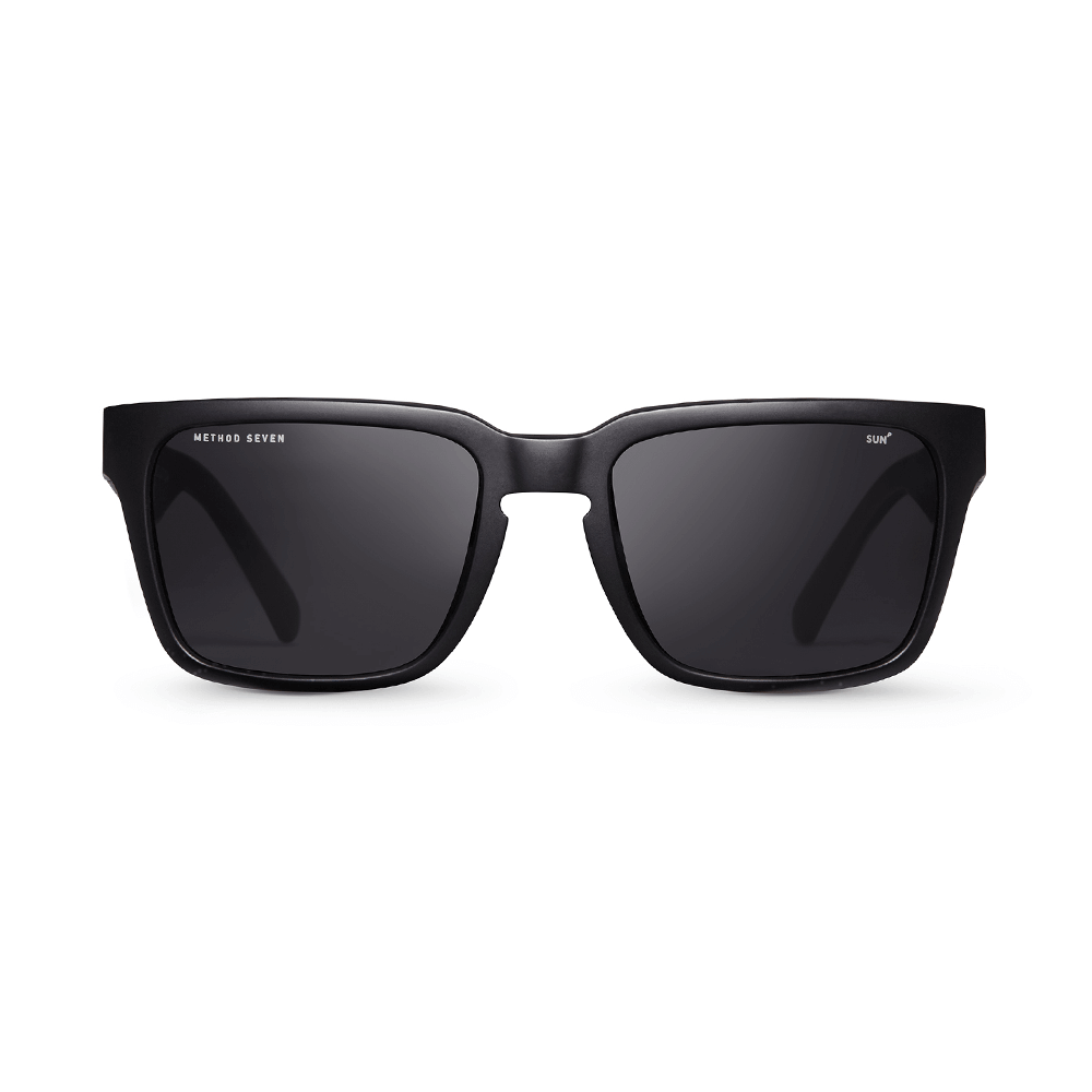 Evolution Sun Polarized Grow Sunglasses - Matte Black