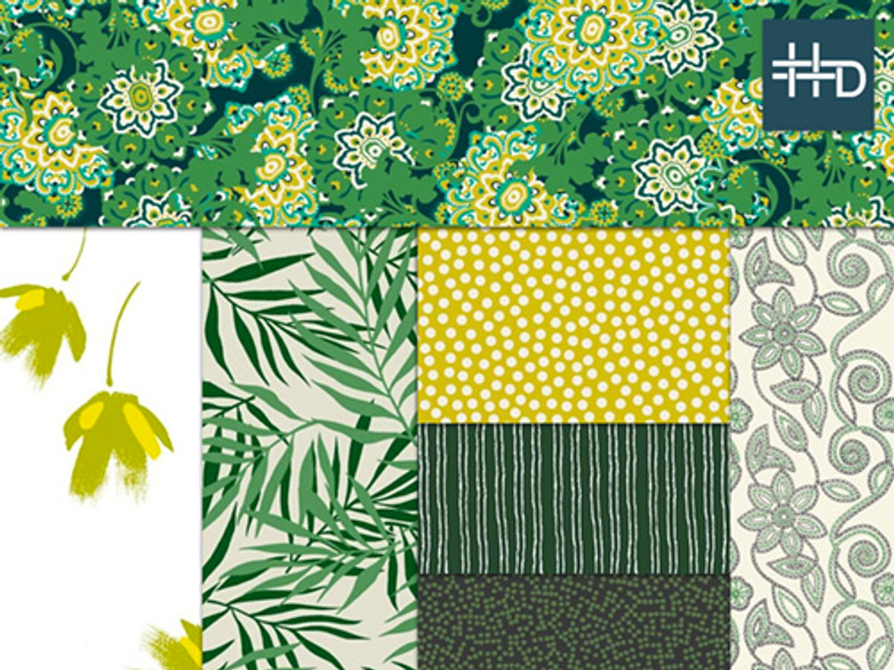 Forest Green Trend Board | Color Story