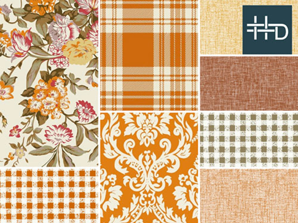 Pumpkin Spice Trend Board | Color Story