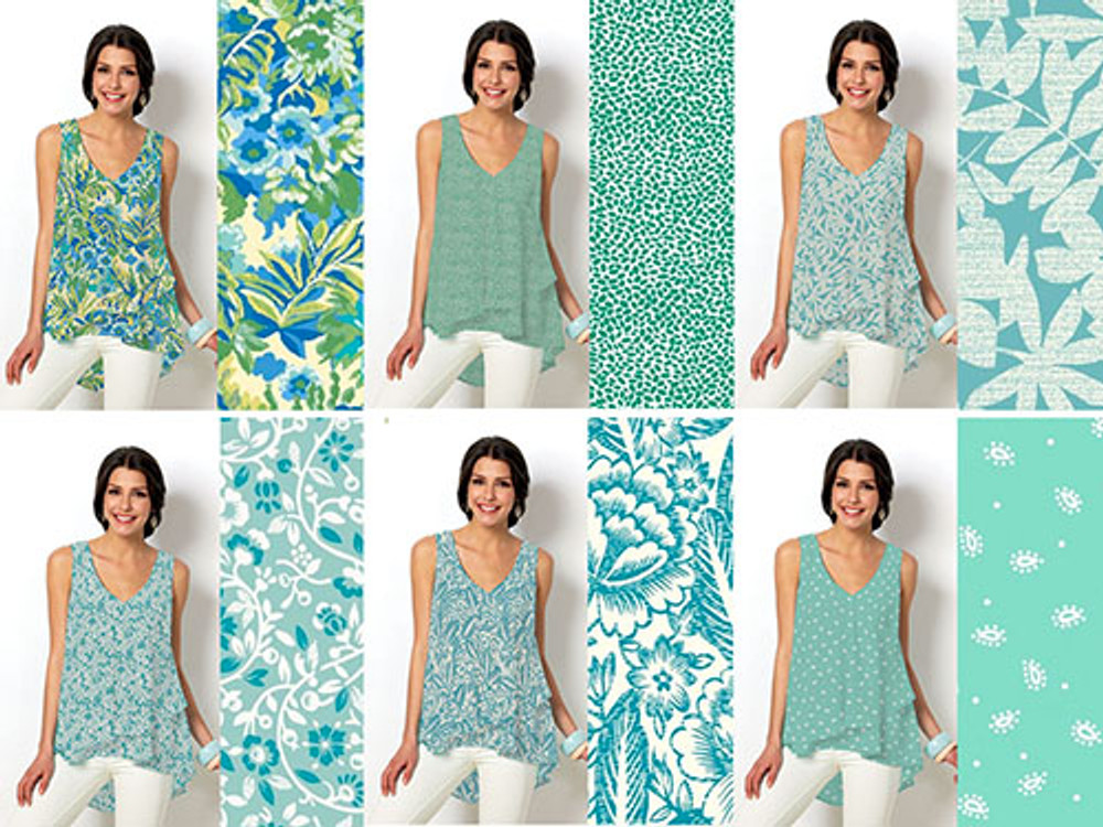 One Sewing Pattern - 6 Looks