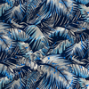 Canopy Tropical Fabric by the Yard in Azure colorway