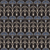 Regal Fountain - Damask Fabric By The Yard