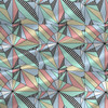 Fractal - Geometric Fabric By The Yard