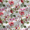 Selly - Floral Fabric by the Yard in Pink