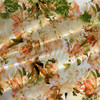 Wonder - Floral Fabric by the Yard in Peach