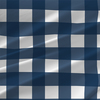 Terrier Check Buffalo Plaid Fabric by the Yard in Navy