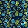 Clover Floral in Celtic Sea colorway