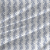 Matisse Stripe fabric in Gray Blue colorway
