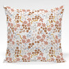 Pillow shown in Ariel Floral fabric by the yard (Pink)