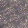 Weigela Saturday Floral Fabric by the Yard in Cinder Violet