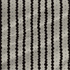 Clemence Stripe fabric in Black and Taupe colorway