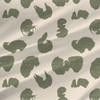 Calligraphy Trace Fabric in Cream