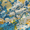 Central Park Floral Fabric By The Yard in Carnival Colorway