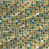 Post It - Abstract Fabric By The Yard in Treetop Colorway