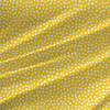 Spotty Abstract Polka Dot Fabric by the Yard in Sunshine Yellow