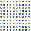 Hop Scotch - Geometric Fabric By The Yard