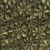 Helena Floral Fabric by the Yard in Gold Colorway