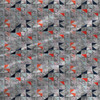 Cut Marbles - Abstract Fabric By The Yard in Red