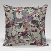 Pillow - Graffiti Fabric Design