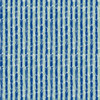 Highway Stripe Fabric Design in River Blue Colorway