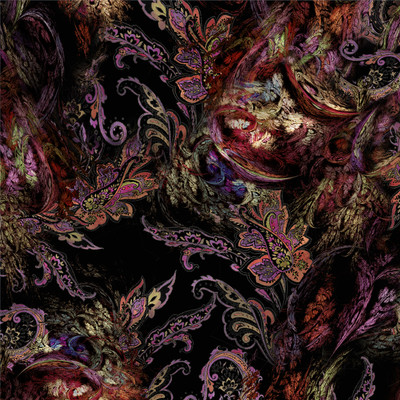 Victoria - Paisley Floral Fabric by the Yard