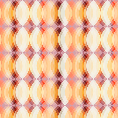 Blur - Abstract Fabric By The Yard in Autumn