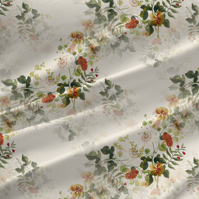Nina - Floral Fabric By The Yard